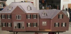 Custom Brick Colonial